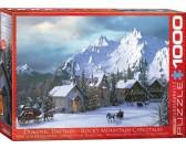 Puzzle Karácsony a hegyekben