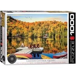 Puzzle Nyaraló a tónál, Quebec
