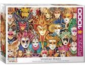 Puzzle Velencei maszkok