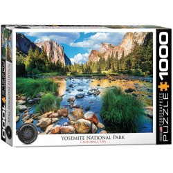 Puzzle Yosemite Nemzeti Park, USA