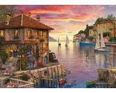 Puzzle Kikötő a Földközi-tengeren