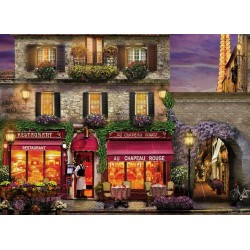 Puzzle Étterem Párizsban
