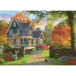 Puzzle Kék ház