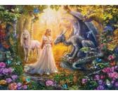Puzzle Hercegnő a varázslatos kertben - XXL PUZZLE
