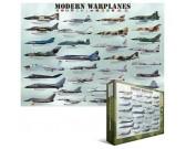 Puzzle Modern harci repülőgépek