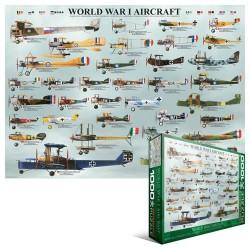 Puzzle I. világháború repülőgépei