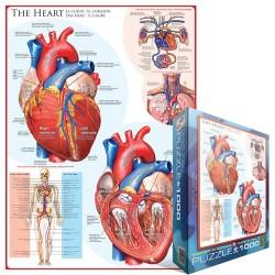 Puzzle Szív - schéma