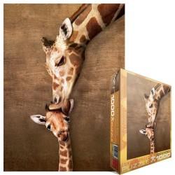 Puzzle Zsiráf kiszsiráffal