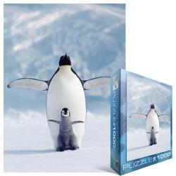Puzzle Pingvin picijével