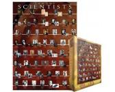 Puzzle Híres tudósok
