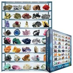 Puzzle Minerálok