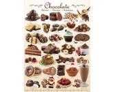 Puzzle Csokis édességek