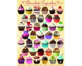 Puzzle Csokis cupcakes