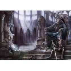Puzzle Elbújva egy sötét templomban
