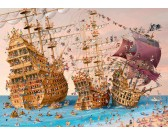 Puzzle Kalóz - TRIANGULAR PUZZLE