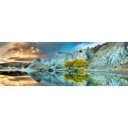 Puzzle Kék tó - PANORAMATIKUS PUZZLE