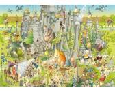 Puzzle Vidám ZOO - Jurassic Park