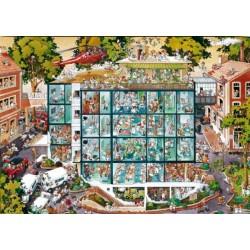 Puzzle Kórház - TRIANGULAR PUZZLE