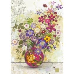 Puzzle Rózsaszín váza