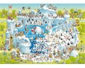 Puzzle Vidám állatkert - poláris expozíció