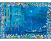Puzzle Cicák Velencében - TRIANGULAR PUZZLE