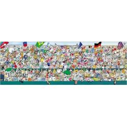 Puzzle Sport rajongók - PANORAMATIKUS PUZZLE