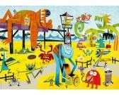 Puzzle Maszkok - TRIANGULAR PUZZLE