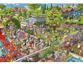 Puzzle Cica party - TRIANGULAR PUZZLE
