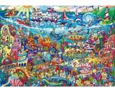 Puzzle Varázslatos tó