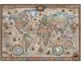 Puzzle Retro térkép
