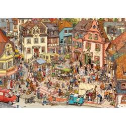 Puzzle Piactér - TRIANGULAR PUZZLE