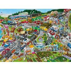 Puzzle Dugó - TRIANGULAR PUZZLE