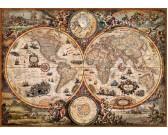 Puzzle Őskori térkép