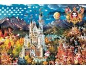Puzzle Neuschwanstein - TRIANGULAR PUZZLE
