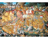 Puzzle Trafalgari csata - TRIANGULAR PUZZLE