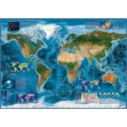 Puzzle Műholdas világtérkép