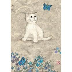 Puzzle Fehér cica