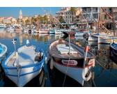 Puzzle Francia kikötő