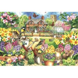 Puzzle Tavaszi kert