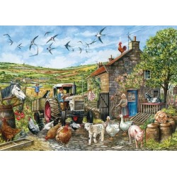 Puzzle Egy nap egy angol farmon