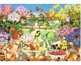 Puzzle Őszi kert