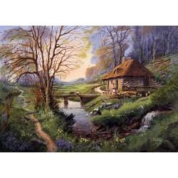 Puzzle Erdő széli ház