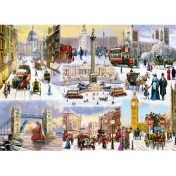 Puzzle London télen