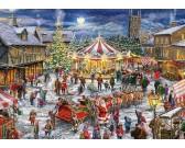 Puzzle Karácsonyi körhinta