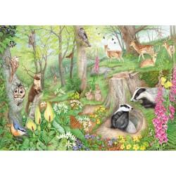 Puzzle Élet az erdőben