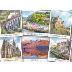 Puzzle Üdvözlet Skóciából