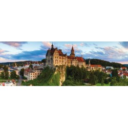 Puzzle Sigmaringen vár, Németország - PANORAMATIKUS PUZZLE