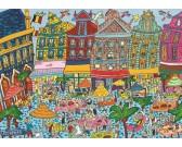 Puzzle Brusszeli tér
