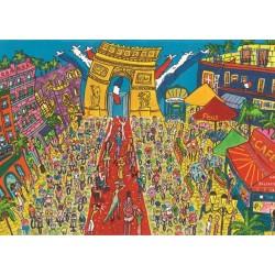 Puzzle Puzzle Gőzteskör Párizsban