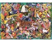 Puzzle Állatok királysága